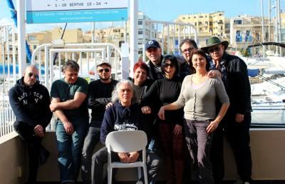 Riccardo Fogli dream team in Malta